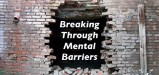 mental barriers to success
