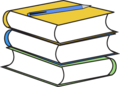 Book-stack-pencil