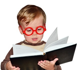 Kid-Book & Glasses