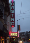 Historic Castro Theatre, one of the last grand single-screen theatres on the West Coast, and home to the Film Noir festival