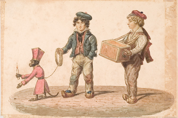 Edward-Williams-Clay-Organ-Grinder-with-Monkey-1828