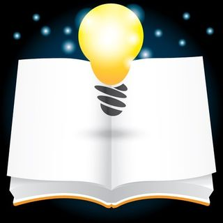 Book with Lightbulb
