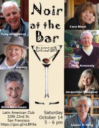 Noir at the Bar flyer