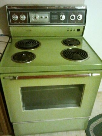 Image result for avocado green appliance color pics