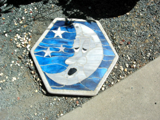 Moon stepping stone